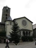 Andorra la Vella. Esglèsia de Sant Esteve