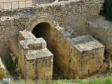 Amfiteatre Romà. Porta d´accés a l´Arena