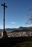 Olot. Vista des del Volcà Montsacopa