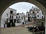 Calella de Palafrugell.  Plaça del Port Bo