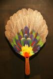 Feather fan, Hilton Waikoloa