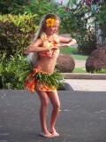 Young Hula Performer