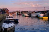 Sunset at The Crick or Fishermans Cove Eastern Passage Halifax Nova Scotia