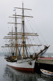 Picton Caslte moored in Halifax Harbour for the Tall Ships Nova Scotia Festival 2009