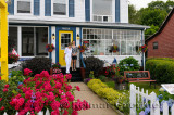Mother and daughter travelers at a Bed and Breakfast in Digby Nova Scotia