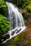 Fuller Falls waterfall on the Fundy Trail Parkway New Brunswick
