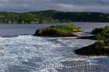 Reversing Falls at dawn in Saint John New Brunswick at Bay of Fundy low tide