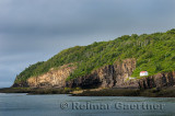 Digby Gut foghorn and light station on the tip of the North Peninsula of Annapolis Basin