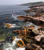 Rugged coastline at MacKinnons Cove in Cape Breton Highlands National Park
