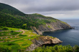 Meat Cove campgrounds at the north tip of Cape Breton Island Nova Scotia