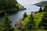 Abandoned fishing village of La Manche on Avalon Peninsula Newfoundland