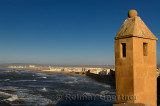 North end of the Essaouira ramparts on the Atlantic ocean Morocco