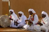 Gnawa musicians singing with tbel hajhuj krakeb and hand clap in Khemliya Morocco