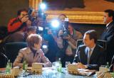 Reunion mesa congreso