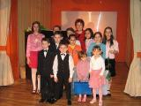 With their Teacher, Mrs. Doina Profir