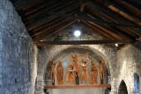 Santa Eulàlia d'Erill la Vall, Inside.