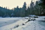 le lac de Maix, gelé!