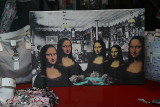 Mona Lisa, la Joconde and their sisters...