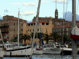 Propriano harbour.