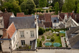 Loches view from above