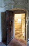 la porte du donjon.