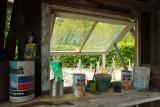 la cabane de Monsieur Vilain, détail.