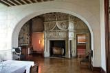 inside Castle Chaumont sur Loire