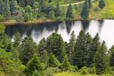 le lac des truites, alt. 1035 m.