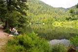 le lac de Retournemer en été.