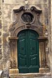 Scanno - green door