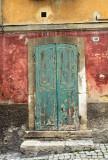 Scanno green door # 2
