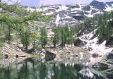 alpes 1980 - lac des merveilles