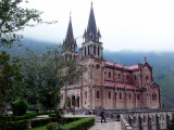 Covadonga, the church.