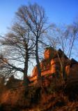 Haut-Koenigsbourg castle.