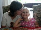 Sylvie et sa fille Mélanie.