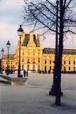 soleil d'hiver au Louvre