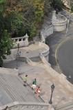 escaliers du Bastion des Pêcheurs 8729