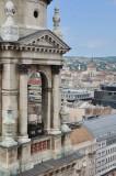 view from Szt. Istvan bazilika - Budapest -  0089