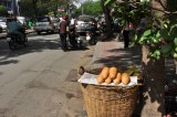 Fresh bread on Ham Nghi street - 3237