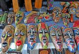 Aboriginal Wooden Masks