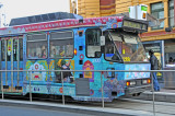 One of Many Colorful Streetcars