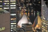 Telephoto of Sydney Opera House