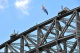 Paying Visitors at Top of Bridge