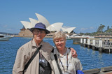 Ann and Bernie with Opera House in Background