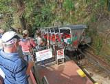 Boarding Funicular Ride