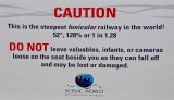Warnings About Steep Funicular Ride