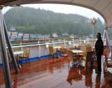 Wet Weather on Arrival at Ketchikan