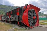 An Old Ice-Breaker Locomotive!