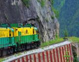 Locomotives of Train to White Pass and Yukon Area