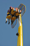One Arm of Rotating Thrill Ride!